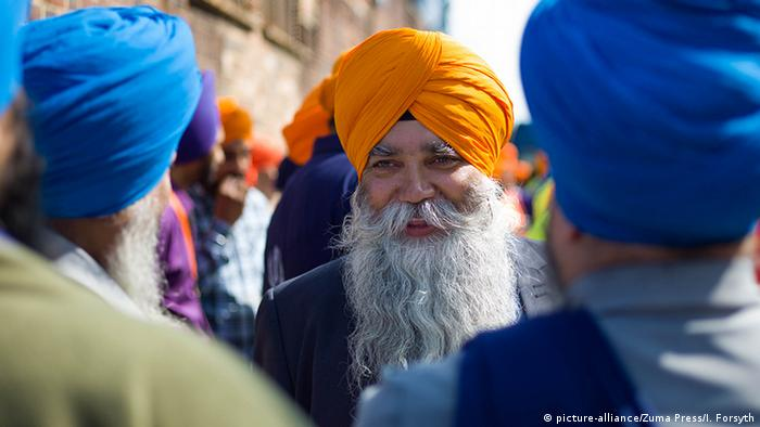 Großbritannien Sikh Gemeinschaft Fest in Middlesbrough, Cleveland (picture-alliance/Zuma Press/I. Forsyth)