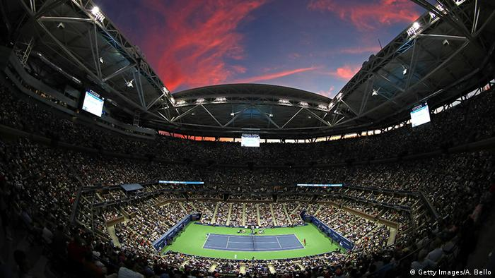 US Open 2016 Finale - Novak Djokovic vs. Stanislas Wawrinka (Getty Images/A. Bello)