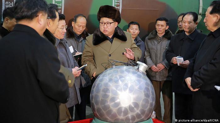 Nordkorea Diktator Kim Jong-un    (picture-alliance/dpa/KCNA)