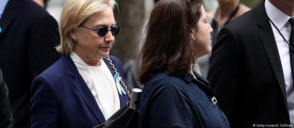 Pneumonia força Hillary a interromper campanha