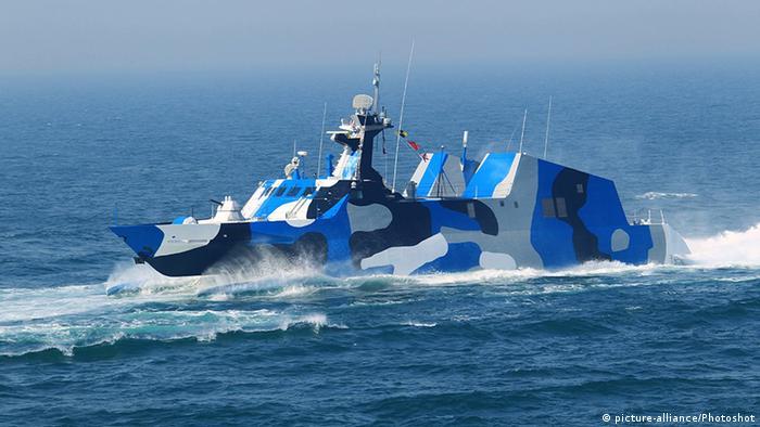 China, navă de război