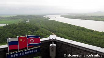 Nordkorea Fluss Tumen (picture-alliance/Yonhap)