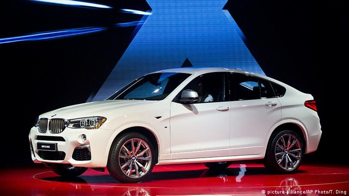 USA Detroit Autoschau BMW X4 M40i SUV