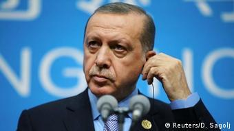 Türkei Erdogan beim G20 Gipfel in China (Reuters/D. Sagolj)
