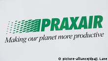 USA Praxair Schild in New York