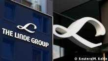 19.08.2016 **** Linde Group logo is seen at its headquarters in Munich, Germany August 15, 2016. Picture taken on August 15, 2016. REUTERS/Michaela Rehle © Reuters/M. Rehle