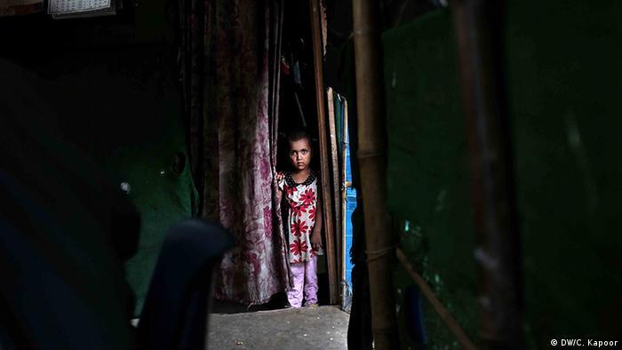 Indien Rohingya Flüchtlinge (DW/C. Kapoor)