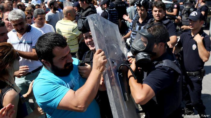 Türkei Kurde Demonstration