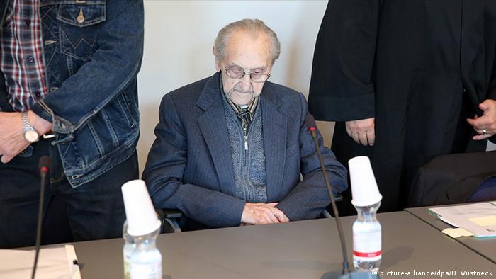 Hubert Z. acusado de colaborar en el asesinato de más de 3.600 personas en campo de concentración nazi.
