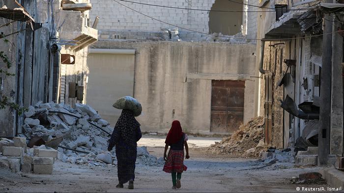 Syrien Zivilbevölkerung in Aleppo