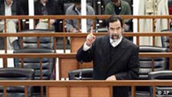 Prozess gegen Saddam fortgesetzt