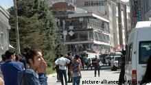 Türkei Autobombe im Stadtzentrum von Van