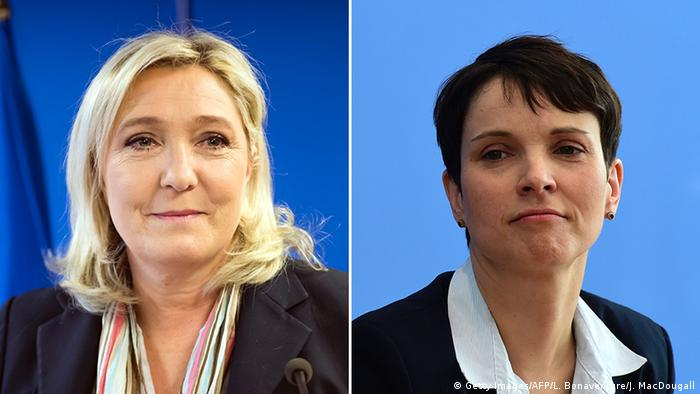 Marine Le Pen i Frauke Petry