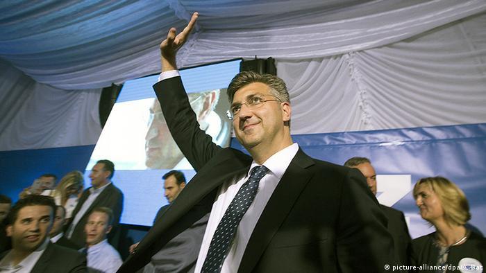 Kroatien Parlamentswahlen Andrej Plenkovic