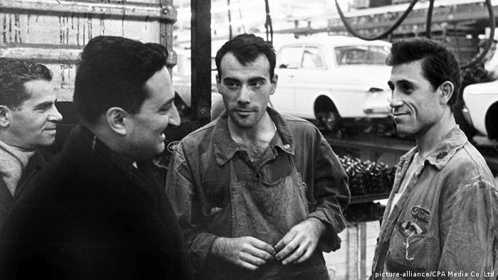 Deutschland türkische Gastarbeiter 1960/70