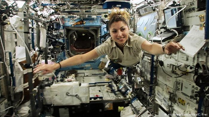 Anousheh Ansari Weltraumtouristin im Film Space Tourists (picture-alliance/dpa/C. Frei)
