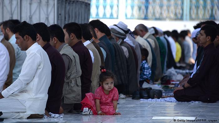Afghanistan Opferfest Mazar-i Sharif