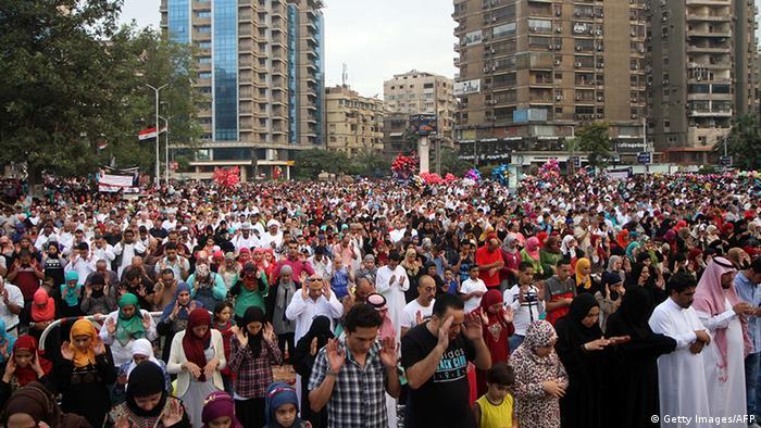 Ägypten Opferfest in Kairo