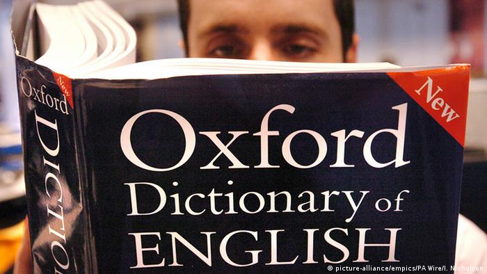 Oxford English Dictionary (picture-alliance/empics/PA Wire/I. Nicholson)