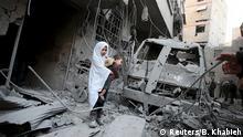 Syrien Luftangriffe in Duma