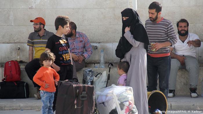 Syrien Idlib Flüchtlinge aus Madaja