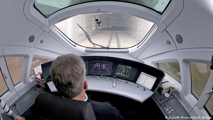 German train driver