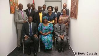 Deutschland FRELIMO-Delegation zu Besuch in Berlin