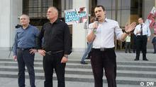 Weißrussland Oppositionspolitiker
