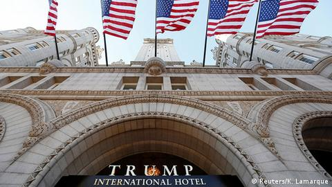 USA Trump International Hotel wird eröffnet (Reuters/K. Lamarque)