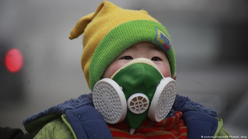 WHO: Nine of 10 people breathe bad air