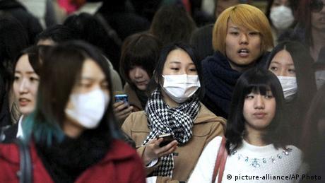 Japan Atemschutzmasken
