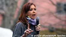 Argentinien ehemalige Präsidentin Cristina Fernandez de Kirchner