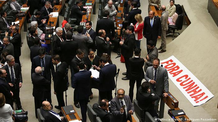 Eduardo Cunha in the Chamber of Deputies