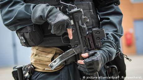 Deutschland Beamter Spezialeinsatzkommando