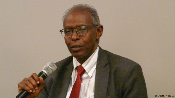 Eritrea Podiumsdiskussion Yemane Gebreab (DW/M. Y. Bula)