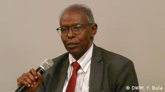 Eritrea Podiumsdiskussion Yemane Gebreab