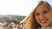 Bildbeschreibungen: Check-in 17.09.2016. Romantische Straße. Nicole Frölich Aufgenommen von Nicole Frölich / DW. Schlagworte: Check-in, Nördlingen, Romantische Straße, Nicole Frölich Copyright: DW/N. Frölich