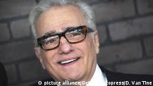 Martin Scorsese bei der Premiere der HBO TV-Serie 'Vinyl' in Ziegfeld Theatre. New York, 15.01.2016 picture alliance/Geisler-Fotopress/D. Van Tine