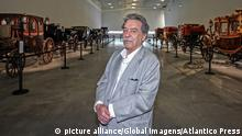 Lisbon, 05/22/2015 - The Brazilian modernist architect Paulo Mendes da Rocha, Pritzker Prize winner 2006, which made the design of the new National Coach Museum in Lisbon. Paulo Mendes da Rocha picture alliance/Global Imagens/Atlantico Press