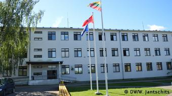 Центр по приему беженцев в Рукле