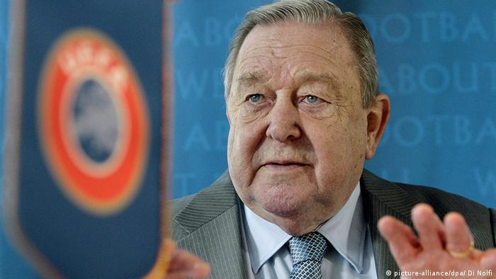 Lennart Johansson UEFA Präsident