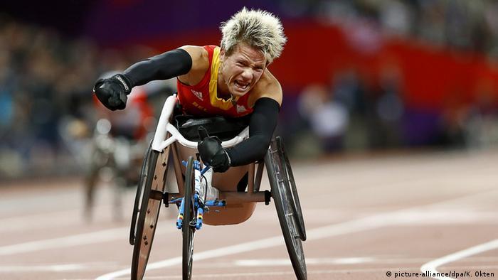 Brasilien Paralympics Rio 2016 - Marieke Vervoort