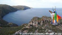 Russland Schamane am Baikalsee