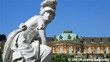 Nutzungsbeschränkungen beachten +++ Bild nur im Rahmen der abgesprochenen Berichterstattung zu Verwenden! +++ Copyright: DW / Maksim Nelioubin Park und Schloss Sanssouci, Potsdam.
