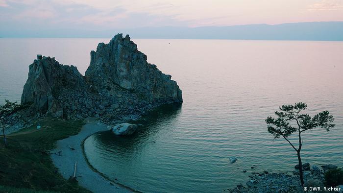 Летний закат на Байкале