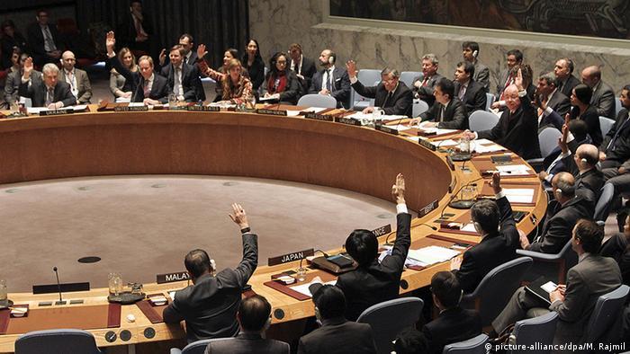 USA Sicherheitsrat der Vereinten Nationen Friedensverhandlungen in Kolumbien (picture-alliance/dpa/M. Rajmil)