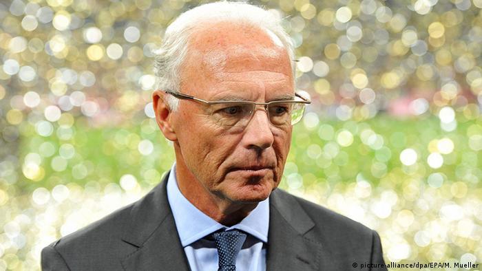 Deutschland Franz Beckenbauer in München (picture-alliance/dpa/EPA/M. Mueller)