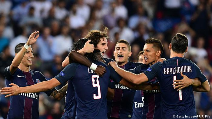 Fußball UEFA Champions League Paris Saint-Germain - Arsenal (Getty Image/AFP/F. Fife)