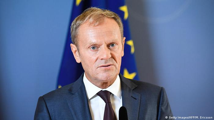 Schweden Donald Tusk in Stockholm (Getty Images/AFP/M. Ericsson)
