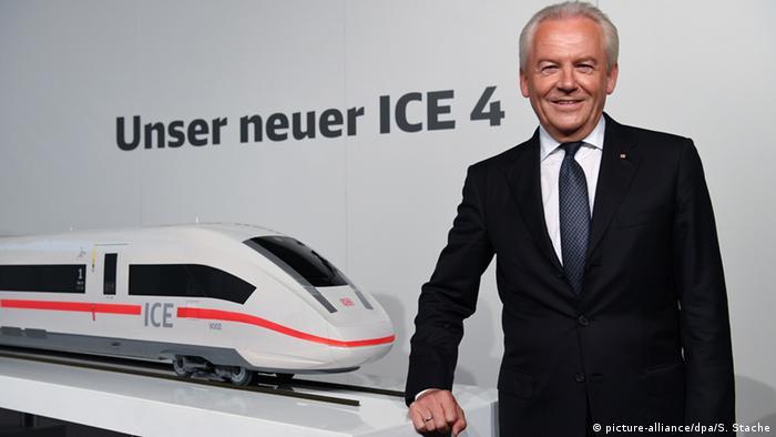Deutschland Deutsche Bahn neue Flotte - ICE 4 - Rüdiger Grube
